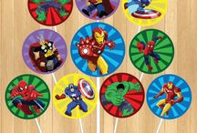 julians 5thbday Avengers Party