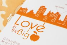 Love in the Big Apple / wedding invitation
