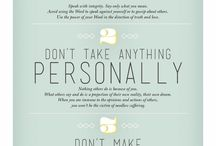 The Four Agreements, Detachment, Letting Go / All about the Four Agreements by Don Miguel Ruiz, detachment, letting go, and setting boundaries.