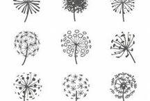 schriftarten/ Zeichnungen
