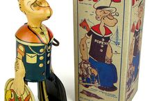 MARX - Louis Marx - Tin Toys / Louis Marx and Company - Made in America - New York U.S.A.