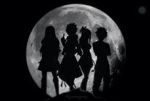 Fairy Tail Lucy,Natsu,Erza,Gray and Wendy