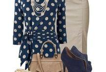 polkadot blouses