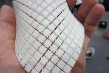 3D printed fabrics