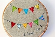 Embroidery and Hoops / by Heidi M
