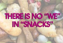 Funny Snack Quotes / Funny quotes about food and snacks!