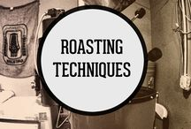 Roasting Techniques / Think of the roasting process as the point in which a coffee bean receives its personality. Whether it's bright, sweet, dark, or fruity, a coffee bean's flavor profile is clearly defined as it roasts. This board is a collection of tips, inspiration, and resources to educate and help you learn more about this beautiful and complex science.