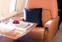 private jet, yacht, orient express ...