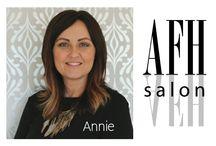 Stylist - Annie Fisher / Annie Fisher, AFH Salon~ Owner, Stylist & certified Framesi educator.
