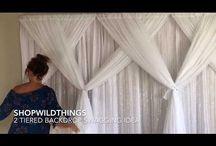vídeo cortina