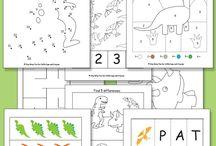 Kinder ideas - numeracy