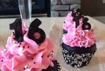cupcakes 15 añitos