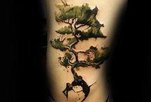 Inspirational Tree Tattoos