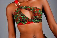 African Print Swimwear