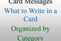 card messages