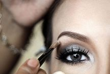 Eye makeup grey