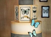 animal, butterfly, bug cakes