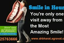 """Dr Agravat's Smile in hour! / Require only one visit for Smile Makeover. """"Dr Agravat's Smile in Hour"""" is a quick, painless and cost effective way to obtain a beautifully celebrity smile without having to pain or undergo any invasive or expensive dental surgery. In case, study has shown that person with beautiful smiles are believed to be more effective and eye-catching. The good news is that you don't have to wait even many days to get the gorgeous smile you've always wanted."""