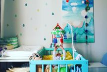 - our little blue house