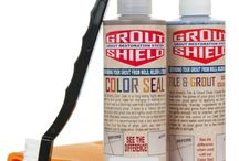 Tile and Grout Color sealer