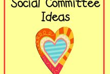 School Social Committee / Ideas for a school social committee.
