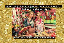Sjaal knutselen / De knutselzussen maken van een oud t-shirt een toffe sjaal! Op hun YouTube kanaal zie je hoe! wwww.youtube.com/knutseltv