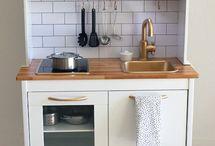 Ideas para cocinita Ikea