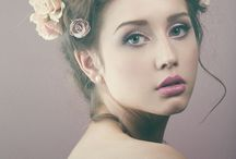 Floral Head Bands / Floral head bands in portraits