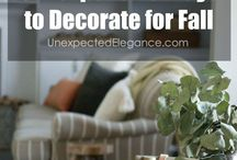 Affordable decorating / Beautiful, practical decor that won't break the bank