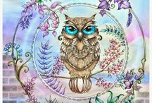 owl#enchanted forest