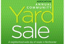 NNA Yard Sale 2015 / Items from over 45 houses in the Northcenter Neighborhood community yard sale.
