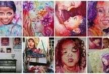 Paintings Nohemy Correa