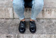 Shooting day 1 / Shoes: Liu Jo Bag: Studio Moda vera pelle made in Italy Model: Bea Photo: Selena C. Location: Torino