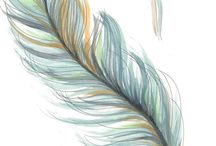 feather tatoo to go with semi colon