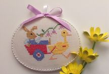 Easter cross stich