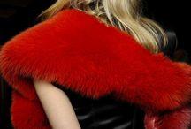 Technicolor Fur / Vibrant colors are a huge trend in fur for Fall/Winter 2013/14