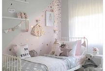 Sofias bedroom ideas pink, gold and grey