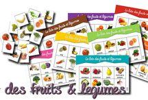 activite maternelle fruits legumes