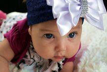 Ideias tiaras para bebês