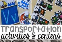Kids Transportation Theme