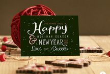 HOLIDAY CARDS / Holiday Cards designed by Koket Design
