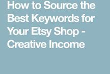 Etsy tips etc