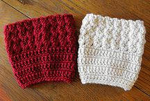 Crochet - Boot Cuffs & Legwarmers
