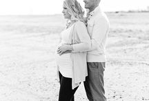 CT Maternity Session at Trumbull Beach / Michelle + Matt's light filled beach engagement session.