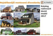 Katalog dřevostaveb - výběr 2017