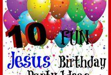iKidmin:Jesus Birthday / Happy birthday Jesus party