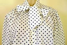 Vintage clothing / Collection of a womens vintage clothing, suede skirts, blouses, kilts etc.