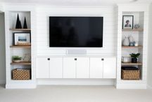 Built in TV unit