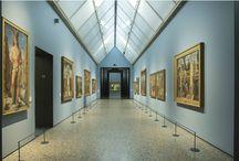 Virtual tour - Sala VI. Dipinti veneti del XV e XVI secolo. / All'interno di questa sala è possibile ammirare i capolavori di Andrea Mantegna e Giovanni Bellini.