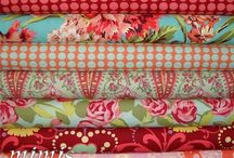 Fabrics / My favorite fabric designers & what I am likely to use when I'm sewing / by Jenny MacCourt